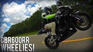 5. Wheelies On a CBR600RR