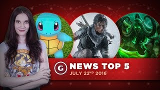 Rise of the Tomb Raider PS4 Release & No Man's Sky Combat! - GS News Update by GameSpot
