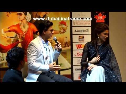 Chennai Express – Shah Rukh Khan & Deepika Padukone in Dubai – Part 1