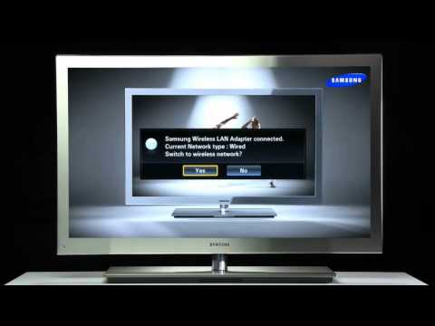 How to Connect 9000 Series 3D LED TV to the Internet