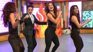 Dancing With Stars - Johnny Tomó Clases De 'terremoto' Detrás De Cámaras En Despierta América
