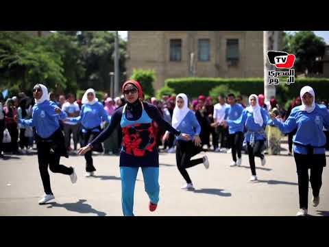 «لعبد وجد ورقص».. احتفالات جامعة القاهرة بالعام الدراسي الجديد