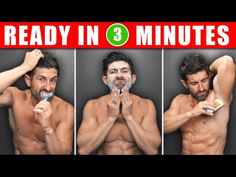 The PERFECT 3 Min. Morning Routine! (6 SECRETS to Get Ready FASTER & Look BETTER)