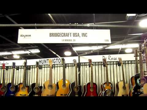 Bridgecraft USA NAMM 2012