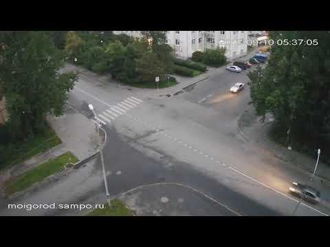 Авария в Петрозаводске