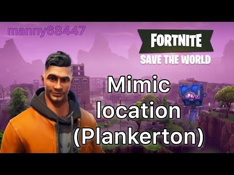 Finally found a Mimic. Fortnite Save the World (Plankerton) 34+ power level