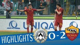 Video Udinese - Roma 0-2 - Highlights - Giornata 25 - Serie A TIM 2017/18 MP3, 3GP, MP4, WEBM, AVI, FLV Agustus 2018