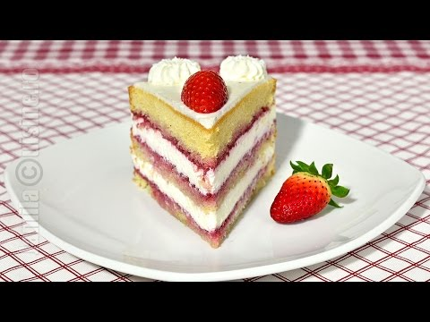 Tort cu mascarpone si fructe | Mascarpone & fruits cake (CC Eng Sub) | JamilaCuisine