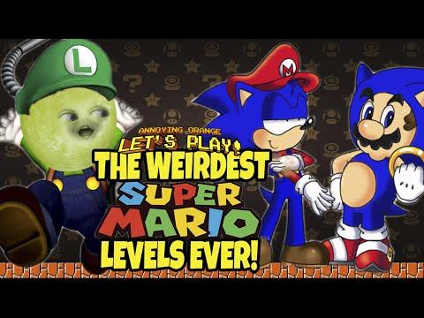 Gaming Grape Plays - The Weirdest SUPER MARIO Levels Ever!