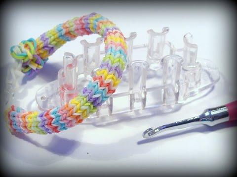 Hexafish Armband mit Monster Tail – Loom Bandz Anleitung deutsch, Hexafish Bracelet