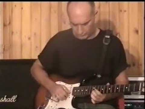 """Andrea Morucci """"Fake slide guitar"""" (Guthrie Govan)"""