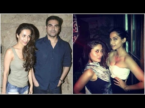 Arbaaz Joins Malaika For Her Father's Birthday | B