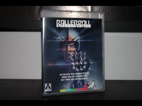 Rollerball - 1975 Arrow Video  Edition Blu-Ray Unboxing