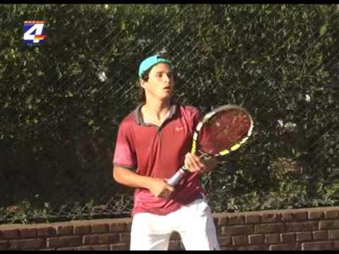 Francisco Llanes campeón sudamericano en Tenis categoría Sub 14
