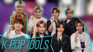 Video ATEEZ Reveals Which Careers They'd Have If They Weren't In The Group! MP3, 3GP, MP4, WEBM, AVI, FLV Agustus 2019