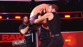 Nonton The Shield Drives The Miz Through The Announce Table After Raw  Raw Fallout  Nov  20  2017 Film Subtitle Indonesia Streaming Movie Download