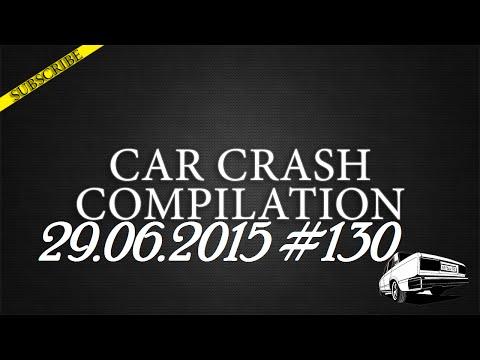 Car crash compilation #130 | Подборка аварий 29.06.2015