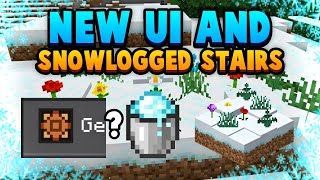 FIRST LOOK At New UI, Why 1.17 Will Fix Snow + Stairs