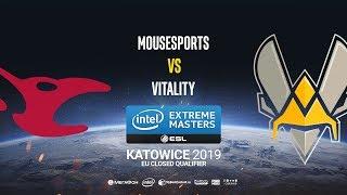 mousesports vs Vitality - IEM Katowice EU Minor QA - map2 - de_mirage [ceh9]