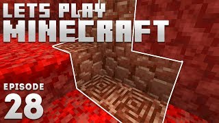 iJevin Plays Minecraft - Ep. 28: ANCIENT DEBRIS! (1.15 Minecraft Let's Play)