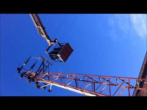 Çağlayan Elektrik Bozüyük 36kV Durdurucu direkte Çalışma