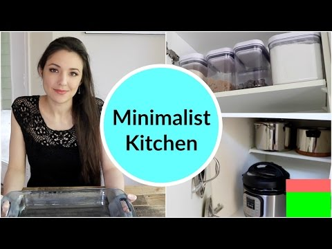 Minimalist Kitchen Organization