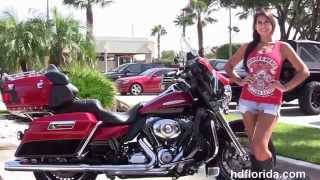 6. Used 2011 Harley Davidson Touring  Motorcycles for sale in Tampa FL