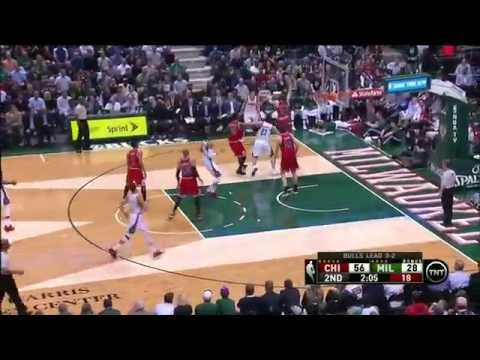 Chicago Bulls vs Milwaukee Bucks: Game 6, NBA Playoffs - 30 April 2015 - Highlights