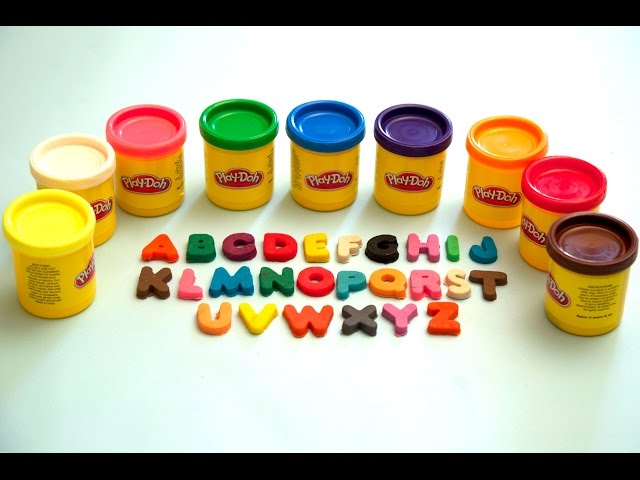 Play Doh ABC Song | Learn Alphabets