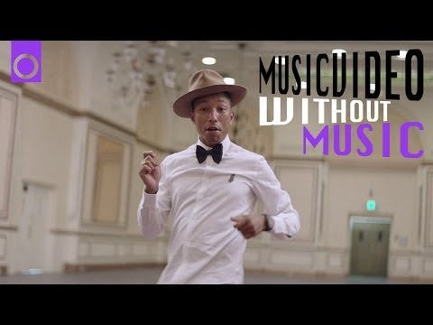 Happy Pharrell Williams No Music Musicvideo