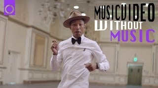 Happy - Pharrell Williams (No Music Musicvideo) #HAPPYDAY - YouTube
