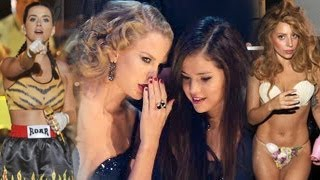 MTV VMA 2013 -- Best Moments -- Selena Gomez, Miley Cyrus, Taylor Swift, One Direction, Lady Gaga