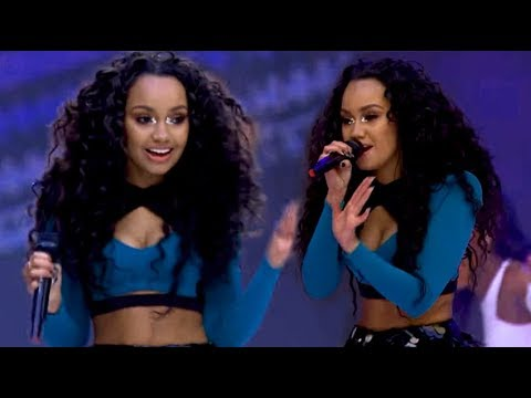 18 times Leigh-Anne's vocals had me SHOOK.