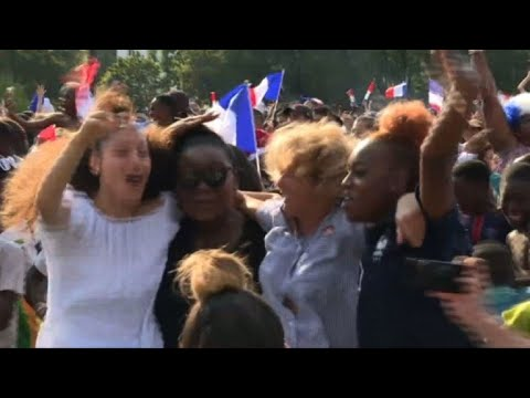World Cup: France Fans In Mbappe Hometown Celebrate His Goal