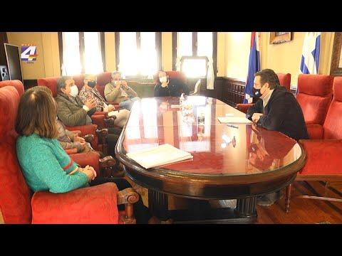 Autoridades de la Intendencia recibieron a las Asociación pro Hemocentro de Paysandú