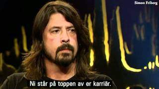 "Dave Grohl at Skavlan, Sweden (Including Foo Fighters playing ""Rope"")"