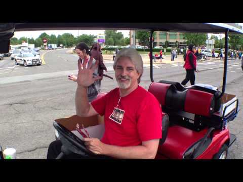 "VIDEO: FULL Strawberry Festival Parade With ""Mountain Man"" from"