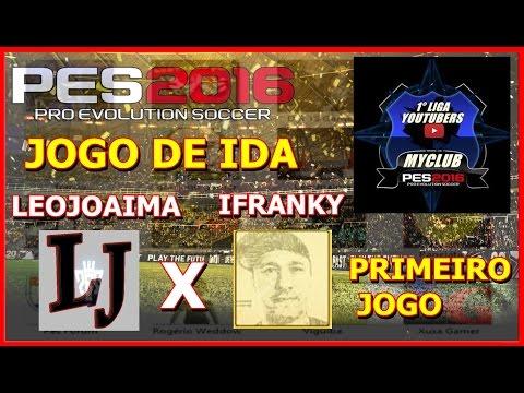 PES 2004 - LIGA DOS YOUTUBERS  - JOGO DE IDA - JOAIMA FC x MANO FRANKY FC