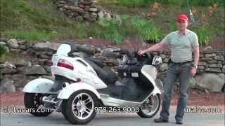 8. 2011 Suzuki Burgman 650 Trike, Detailed Overview, AlphaCars & Ural of New England