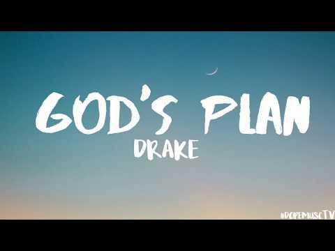 Drake - God's Plan (Lyrics) (видео)