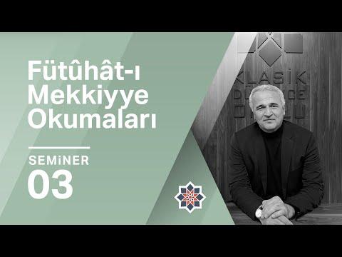 Fütûhât-ı Mekkiyye - III