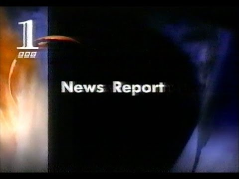 Princess Diana Crash - First BBC News Report (interrupting 'Borsalino') 1997