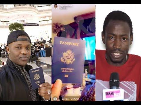Pape mbaye a Mbaye Lambar lambar ''dinalamay 4000 dollars ak invitation