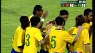 2008 (August 2) Vietnam 0-Brazil (Olympic) 2 (Friendly)
