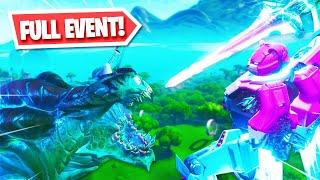 ROBOT vs MONSTER EVENT in Fortnite!