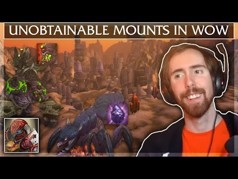 "Asmongold Reacts To ""every Unobtainable Mount In World Of Warcraft"" By Madseasonshow"