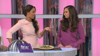 Amber Marchese Plays a Game of Dine or Dish
