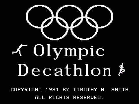 [Apple II] Olympic Decathlon