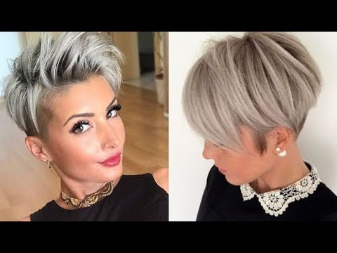 Hairstyles for short hair - Short Hairstyle Ideas for 2019 - Pixie Haircuts, Lobs, Curtain Bangs & More!