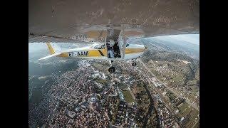Red Bull SkyDive iznad bh piramida - LongClip